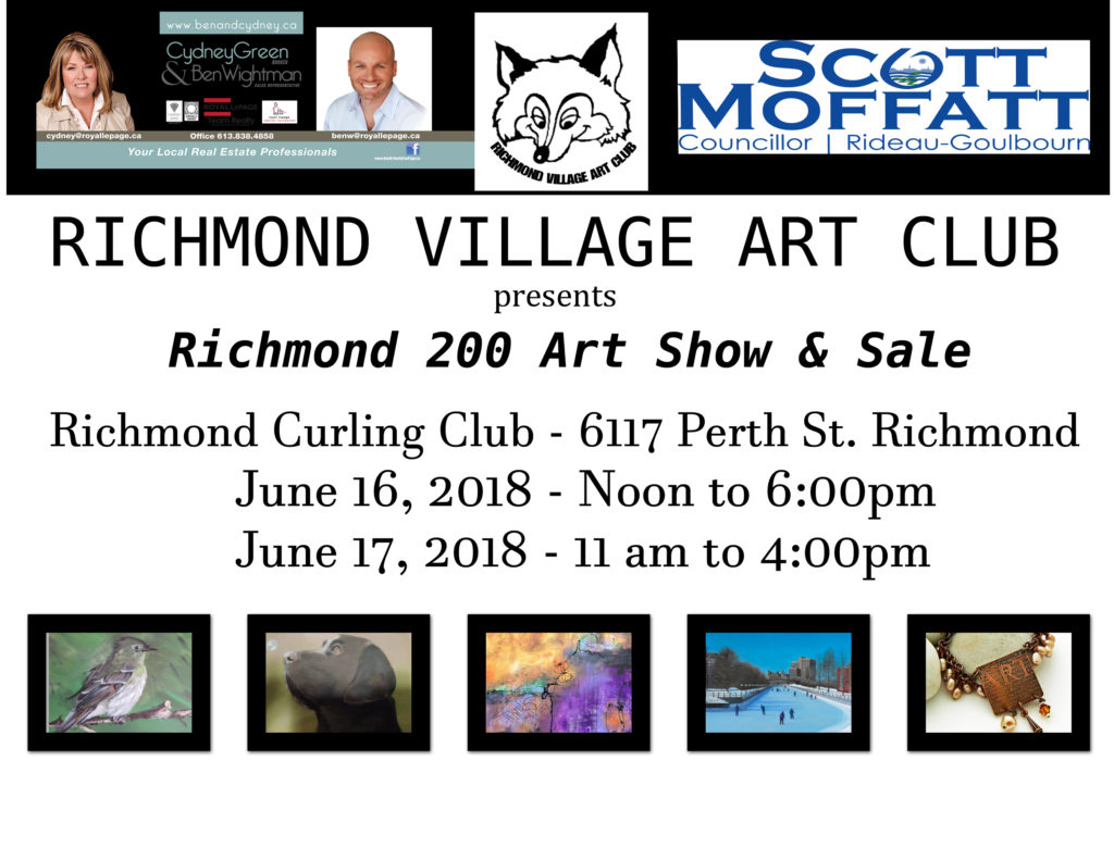 Art Show & Sale @ Richmond Curling Club